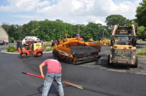 Harmony Bowl Parking Lot Paving