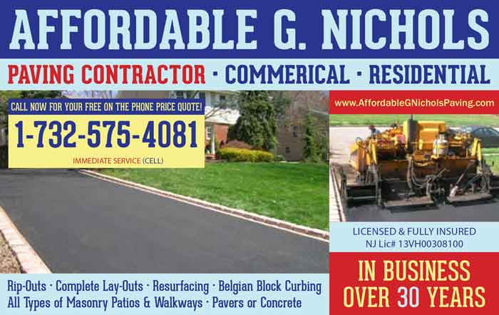 Nichols Commercial Parking Lot Paving Contractor