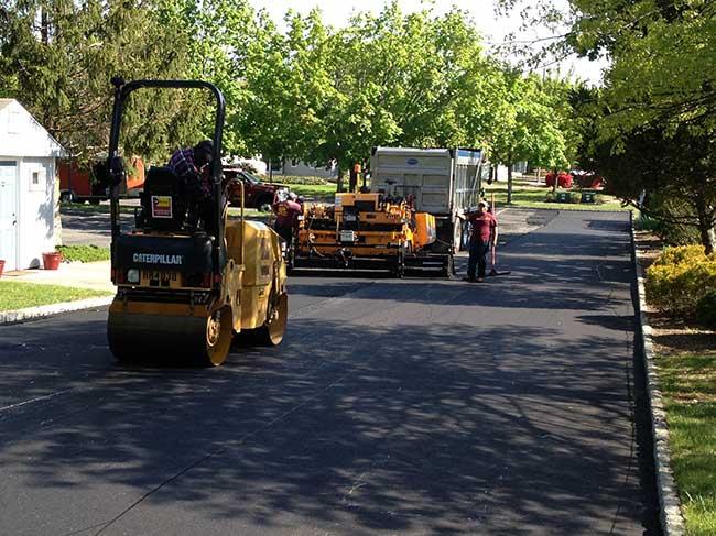 NJ Commercial Asphalt Parking Lot Paving Contractor
