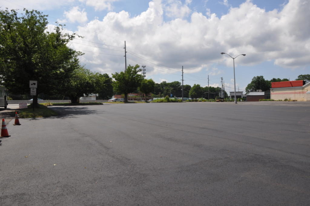 Harmony Bowling Parking Lot Paving