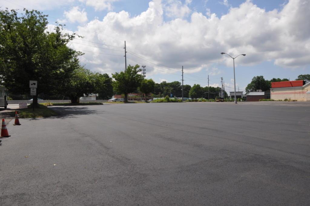 Harmony Bowling Parking Lot Paving