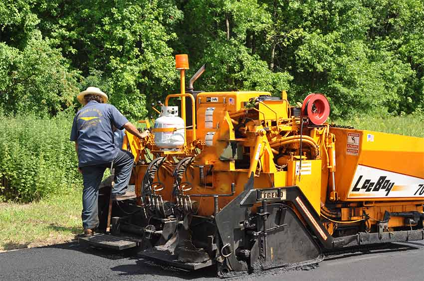 NJ Commercial Paving Contractor