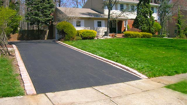 Residential Driveway Paving